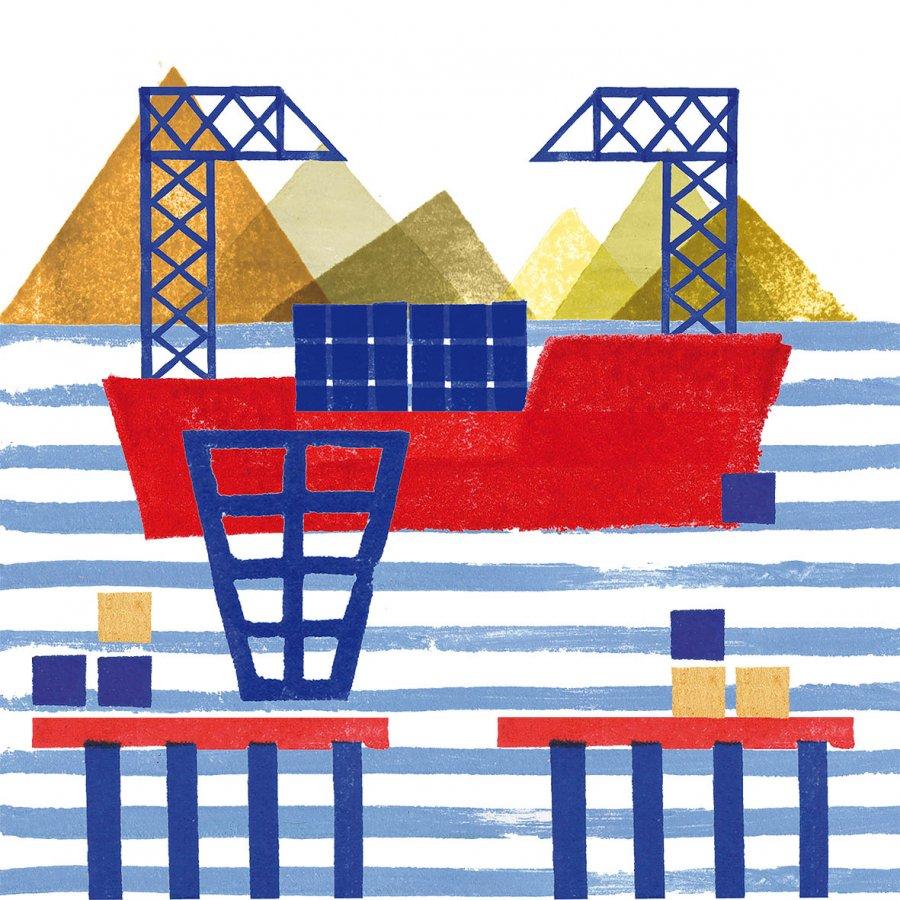 Cartes maritimes - digital prints
