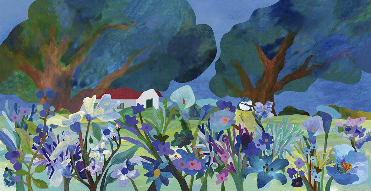 Le Diplodocus, Bleu jardin, Teresa Arroyo Corcobado