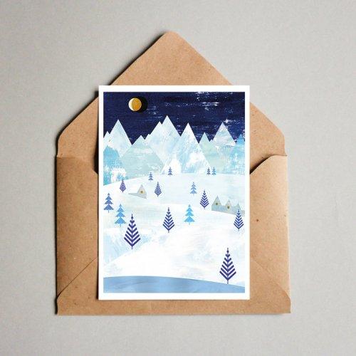 Christmas postcard - Teresa Arroyo
