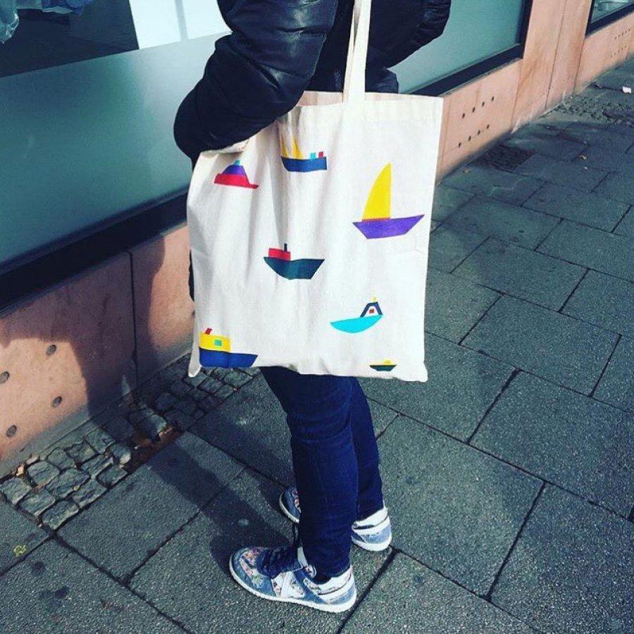 Hand-painted Teresa Arroyo Tote bags